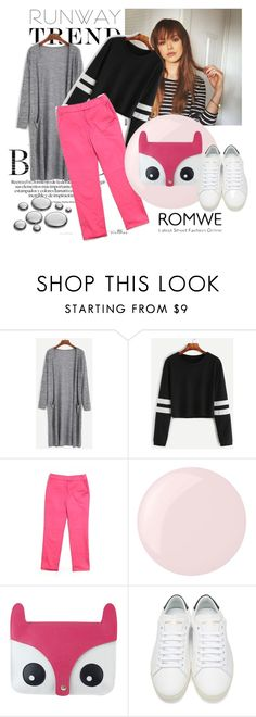 """""""Runway Trend"""" by endywil ❤ liked on Polyvore featuring Akris Punto, Essie and Yves Saint Laurent"""
