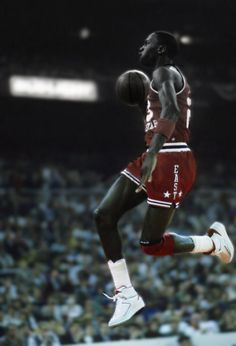 Michael Jordan Flying