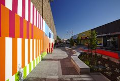 Morgan Court_Landscape Architectural works by City of Moreland & Wayfinding by Aspect Studios.