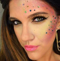 Makeup maquiagem fantasia carnaval