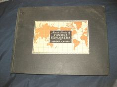 Minute Stories of Famous Explorers (1934) columbus polo illus-Jerome and Kates