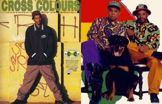 42. Cross colours - The 90 Greatest '90s Fashion Trends | Complex
