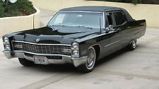 Cadillac : Fleetwood 75      only 965 Made 1967 cadillac fleetwood 75 limousine 112 000 miles runs and drives great