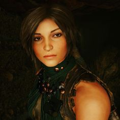 Beautiful Lara - Shadow of the Tomb Raider Tomb Raider 2013, Tomb Raider Lara Croft, Dark Fantasy Art, Lady, Videogame Art, Heroines, Beautiful, Videogames, Character Art