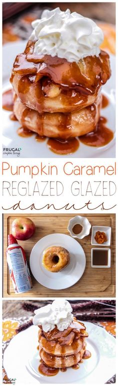 Pumpkin Caramel Reglazed Glazed Donuts on Frugal Coupon Living. This is an easy sauce, also a great homemade pancake syrup or even top over ice cream!