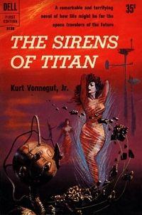 The Sirens of Titan by Kurt Vonnegut. Absolutely amazing