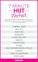 It HIIT Workout. No excuses Visit for tips + advice on health & HIIT Workout. No excuses Visit for tips + advice on health & fitness Sixpack Abs Workout, 7 Workout, Full Body Workout Plan, 7 Minute Workout, Workout Plan For Women, Workout Plans, Workout Exercises, Quick Workouts, Workout Fitness