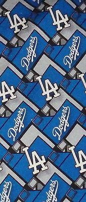 Los Angeles LA Dodgers Baseball MLB Tie
