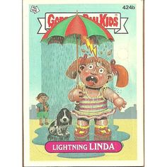Garbage Pail Kids #424b Lighting Linda Trading Card 1987 Topps Chewing Gum Listing in the Garbage Pail Kids,Non-Sport Trading Cards,Non-Sport Trading Cards & CCGs,Collectables Category on eBid Canada | 119695365