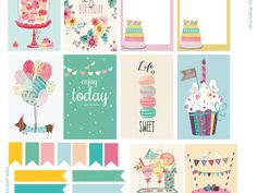 Planner Printables - Do Not Share this link directly. Please share my website: www.victoriathatcher.com - Google Drive