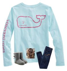"""""""Ugg boots contest"""" by liblu13 ❤ liked on Polyvore featuring Vineyard Vines, American Eagle Outfitters and UGG"""