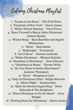 Calming Holiday Playlist for self-catering - Joyeuxx Noel 2020 Christmas Time Is Here, Christmas Mood, Noel Christmas, Merry Little Christmas, Christmas Music, Holiday Fun, Christmas Snowflakes, Christmas Style, Christmas Lyrics