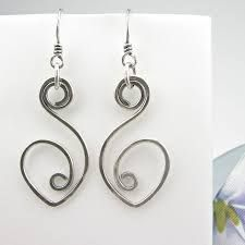Image result for flat wire earring
