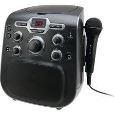 Ilive Blue Cd+g Karaoke With Bluetooth