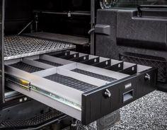 TransLock TL4 Secure Storage Unit - ideal for shotgun & ammunition storage in Land Rover Defender 90 or 110