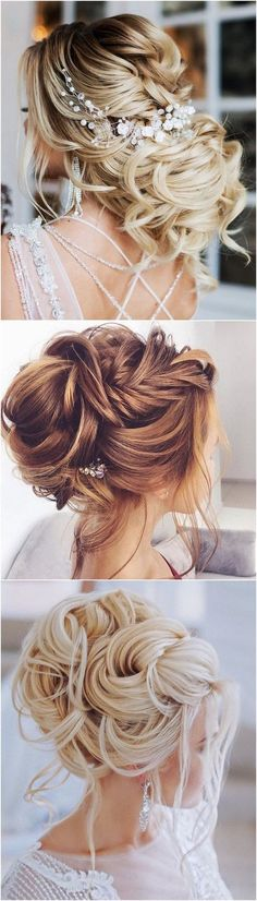 gorgeous updo wedding hairstyle with headpiece_#weddinghairstyles #bridalhairstyle #bridalupdos #weddinghairstyle