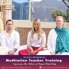 300 Hours Residential Meditation Teacher Training #Certification Course with us will help you to gain a deeper insight of Meditation #knowledge in form of practice, yogic philosophy, Anatomy- #physiology, teaching #methodology and experience embodied in the ancient #Indian Vedic texts.