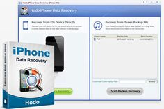 Hodo iPhone Data Recovery – Recover data from iPhone 5/4S/4/3GS
