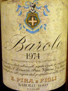 E. Pira & Figl 1974 Barolo