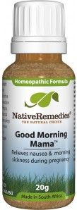 Good Morning Mama™ - Relieves Morning Sickness Symptoms Related to Pregnancy