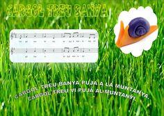 He preparat algunes làmines de cançons tradicionals en català per poder-les penjar a l'aula. A cada làmina podem veure la lletra i la partit...