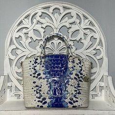 Brahmin Duxbury Satchel Echo Ombre Melbourne Leather Blue White | eBay Winter Haven, Brahmin Handbags, Melbourne, Satchel, Blue And White, Leather, Ebay, Brahmin Bags, Crossbody Bag