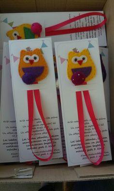 Grāmatzīme kā dāvana skolēniem 1. septembrī// bookmark for pupil. Paldies Jolanta Eversone par idejas realizēšanu! :)
