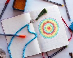 Bullet Journal Ideas - 6 Ways to Overcome Your First Page | LittleCoffeeFox