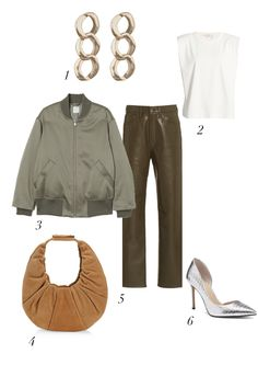 Check out these bomber jacket outfit ideas to answer to your question on how to wear a bomber and the best bomber jackets brands for women with the most coveted styles you need to incorporate in your trendy outfits. #streetstyle #outerwear #outfits #greenleather #olivegreenbomberjacket #satinbomberjacket #womenbomberjacket #falloutfits #fallfashion #style