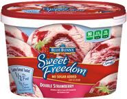 Sweet Freedom®  Ice Cream  Double Strawberry this stuff is great and only 90 calories a serving!!