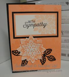 Stamp with Susie: With Sympathy- using 'Flourishing Phrases'!