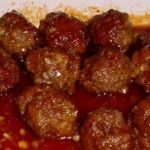 Easy Sweet and Sour Meatballs Recipe, I added Worcestershire sauce to meat balls and bread crumbs if no cracker crumbs. For the sauce, I used less vinegar than what this recipe calls for.