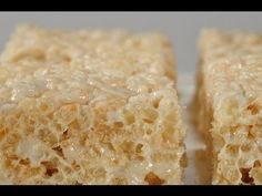 Rice Krispies Treats Recipe Demonstration - Joyofbaking.com