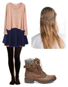 """Thanksgiving ootd"" by tessajeane ❤ liked on Polyvore featuring Hansel from Basel, QNIGIRLS, MANGO, Zara and Steve Madden"