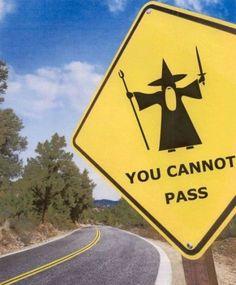 Gilt das Schild nur für Balrogs oder für alle?