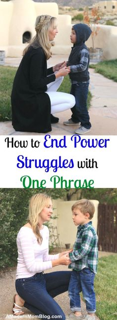 How to end power struggles with strong willed children that will help mom effectively discipline their toddlers and young children with this parenting tip
