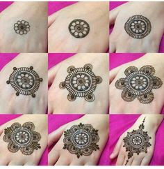 step by step mehndi ke design