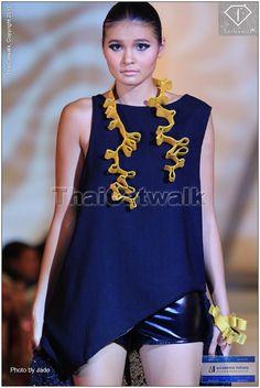 Accademia Italiana Fashion show 2013 Collection: Rebirth after Chernobyl Designer: Ekaterina Bushueva