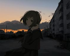 Anime picture with original (artist) girl single short hair brown hair looking at viewer brown eyes scho. Anime Art Girl, Manga Girl, Anime Triste, Tamako Love Story, Real Anime, Beautiful Arabic Words, Image Manga, Anime Profile, Animes Wallpapers
