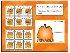 """Printables"" - Candy Corn Math"