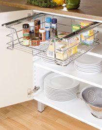 Le tiroir coulissant horizontal pour placard