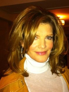 Rene Russo's volume blowout by Kristin