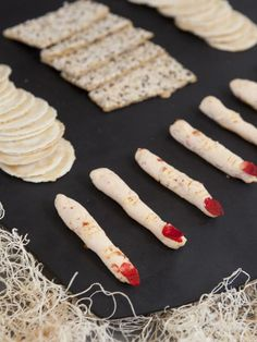Goat cheese fingers food halloween goat cheese halloween pictures happy halloween halloween images halloween treats halloween food halloween snacks
