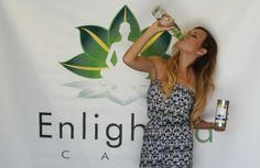 "Hot Tea Model Danyel Christine enjoying her new EnlighTea! Use Promo Code ""DANYEL"" on any purchase of $50 or more and receive a free autograph picture! :) www.EnlighTea.com/Store"