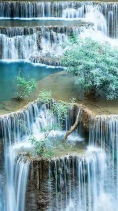 Dogwood Canyon Nature Park - Lampe, Missouri Beautiful Waterfalls, Beautiful Landscapes, Natural Waterfalls, Landscape Photography, Nature Photography, Travel Photography, Photography Classes, Animal Photography, Photography Reviews