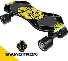 Swagtron Electric Skateboard Teens Smart Sensors Mini E-Cruiser Skateboard Electric Scooter For Kids, Kids Scooter, Electric Skateboard, Cruiser Skateboards, Complete Skateboards, Free Kick, Kicks, Teen, Mini