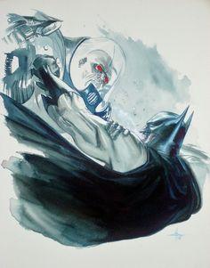 Batman vs. Mr Freeze by Gabriele Dell'Otto