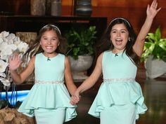 """Sophia Grace Brownlee and Rosie McClelland make their big return to """"The Ellen DeGeneres Show"""" on today's show."""