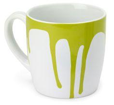 Paint Drip Coffee Mug $12