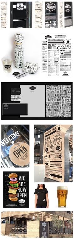 Independent Burger by Eme Design Studio #independentburger #design #identity